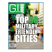 GEO recognized in G.I. Jobs for hiring in 43 of the 50 Military Friendly cities.